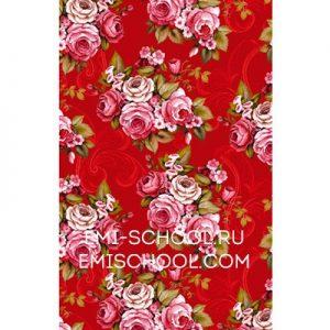 "PRINCOT ""Victorian Roses in Crimson"""