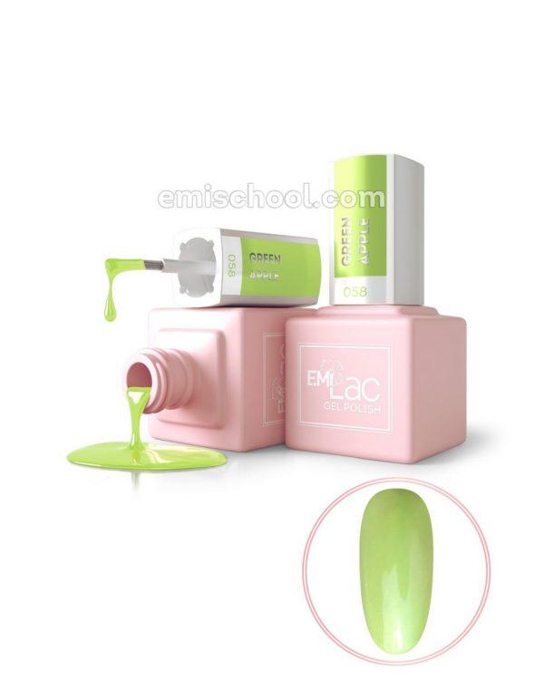 E.MiLac PA Green Apple 9ml. Nr. 058
